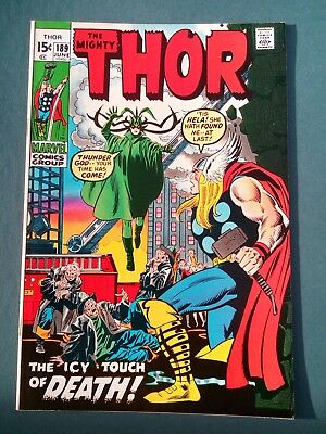 The Mighty Thor #189 FN+ 1971