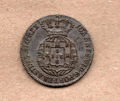 Portugal - 50 Reis - 1/2 Tostao - Joao Vi - Nd1799-1816 - Silver Coin