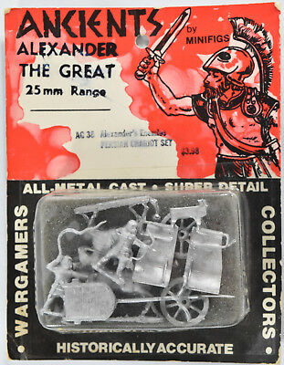 Ancients AG36 Alexander Great Enemy Persian Chariot Set Minifigs 25mm Miniature