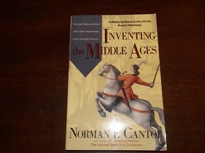 Inventing The Middle Ages Norman F. Cantor PB Book VGC 1993 Medieval