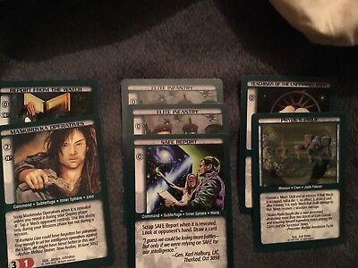 Battletech CCG - 7 rare unlimited cards