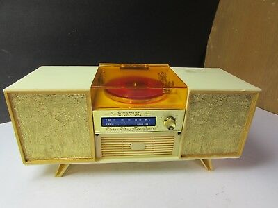 Cool Vintage Mid Century Modern Stereo Music Box Jewelry Box