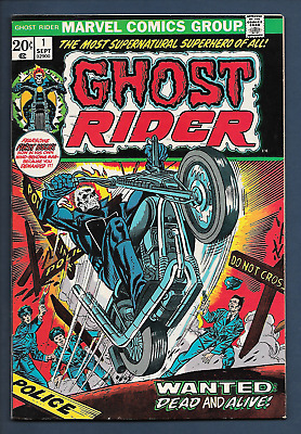 GHOST RIDER # 1 (Classic Key Issue ) ( HIGH GRADE )