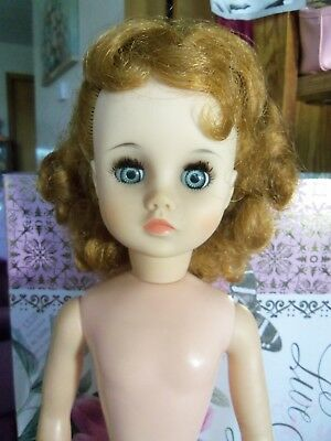 "17"" VINTAGE 1965 Madame Alexander Elise Doll Nude one Issue Please See Gorgeous"