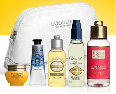 L'Occitane Delights of Provence Gift Set Cosmetic Bag divine cream shea butter