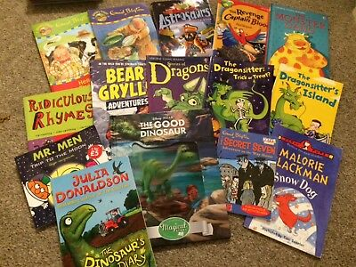 Boys bundle of early reader books
