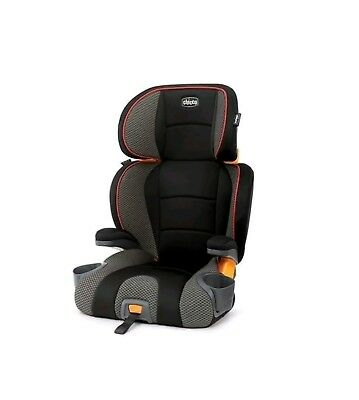 Chicco KidFit 2-in-1 Belt Positioning Booster Seat in Atmosphere, Latch, Cushion