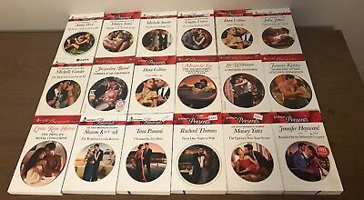 Lot of 18 Harlequin Presents - Red Banner; Lot 3
