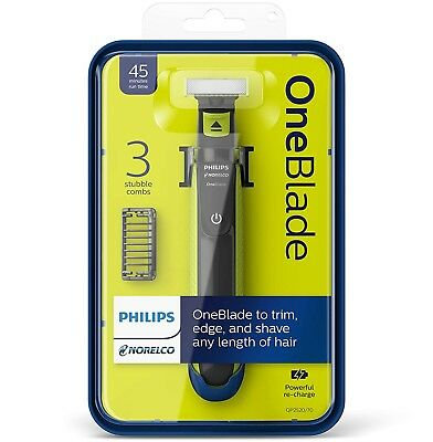 Philips Norelco OneBlade Hybrid Electric Trimmer and Shaver QP2520 One Blade