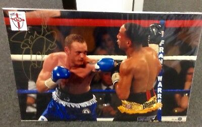 George Groves Official Boxing signed limited edition photo, only 25 worldwide