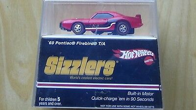 Hot Wheels Sizzlers '69 Pontiac Firebird T/A Red NEW In Box