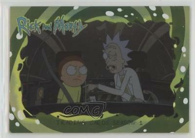 2018 Cryptozoic Rick and Morty Foil #01 Trading Cards Season 1 Card 1md