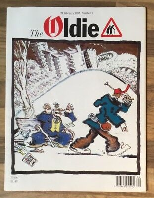 1st Issue Of The Oldie Magazine 21 February 1992.