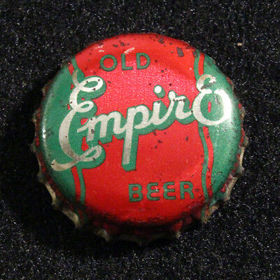 Old Empire Cork Lined Beer Bottle Cap United Union Brew. Walla Walla, Washington