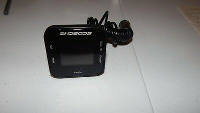 Scosche FM Radio Transmitter with AUX Cable