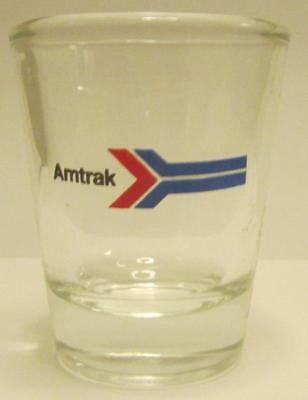 An Amtrek Trains Shot Glass 1 1/2 oz.