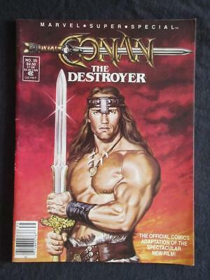 Marvel Super Special #35 MARVEL 1984 - NEAR MINT 9.0 NM - Conan The movie!