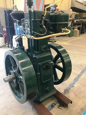 6hp Listeroid Diesel Engine w/Extras