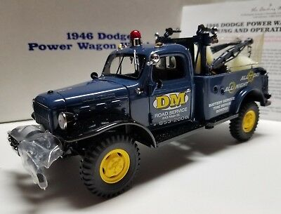 Danury Mint 1946 Power Wagon Wrecker/Tow Truck Great Condition