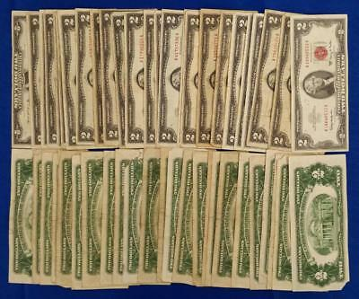 50-Us $2 Red Seal Notes 1953/63            L2939