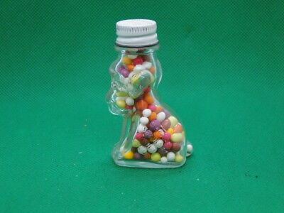 """Dog Candy Container - Unopened by J C Crosetti Co.  2 3/4"""" tall  Vintage"""