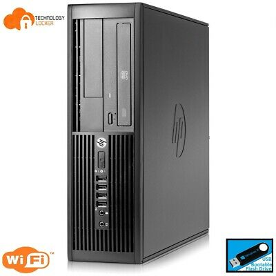 HP 4300 Pro SFF Desktop PC Intel i5-3470s @2.90GHz 4GB RAM 500GB HDD Win 10
