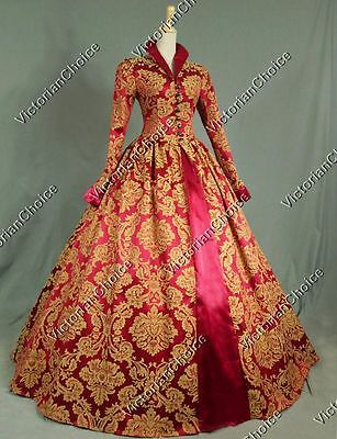 Renaissance Game of Thrones Queen Christmas Holiday Ball Gown Dress 162 XXXL
