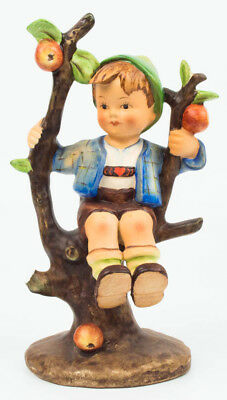 "Rare Goebel Hummel #142 /1 Tmk1 /2 Full Crown ""apple Tree Boy"" 6 1/2"" Figurine"