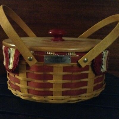 longaberger christmas basket