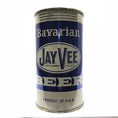 Jay Vee Beer Flat Top Can From California (Usbc 86-26)