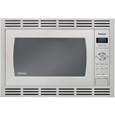"Panasonic 30"" Trim Kit for 2.2 cuft Stainless Microwave Ovens, NN-TK932SSAP"