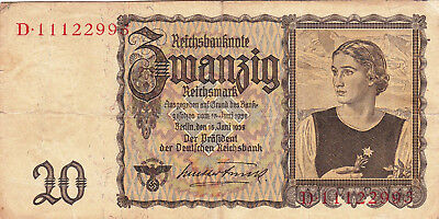 Currency Selection, Germany 20 Marks