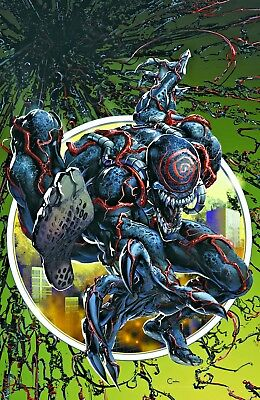 Venom First Host #1 Crain Virgin Variant Vf/nm 1St App Tel-Kar Hot Ltd Very Rare