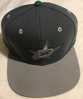 new product 601e8 4fe3a ... cap on sale 261b0 1d5f2  canada rare dallas stars snapback hat adult  one size new w tags adidas nhl hockey d3779