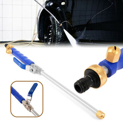 Hydro Jet High Pressure Washer Water Spray Tools Nozzle Wand Connection Adapter