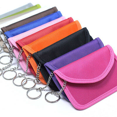 Anti Theft Keyless Entry Car Key Fob RFID Signal Blocking Faraday Cage Pouch Bag
