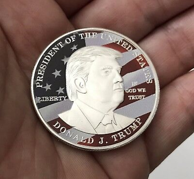 Donald Trump President U.s. Make America Great Again Challenge Coin N0N Nypd Cpo