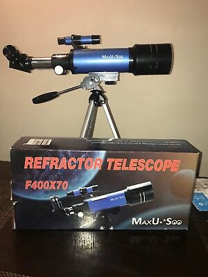 never used telescope just box open