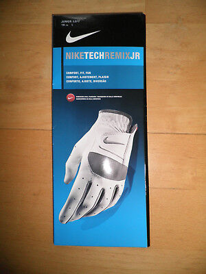 Nike Golfhandschuh Junior links L Neu und OVP mit 4 Markern Golf Tech Remix JR
