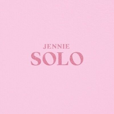 BLACKPINK Jennie-[Solo] 1st PhotoBook CD+Poster+Book+Post+Card+Gift+Tracking