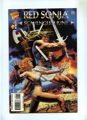 Red Sonja Scavenger Hunt #1 - Marvel 1995 - VFN- - One Shot