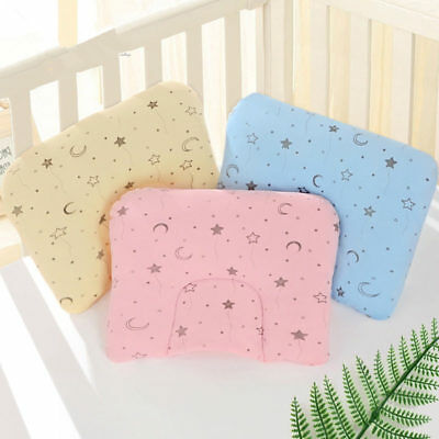 Infant Baby Anti-rollover Soft Cute Pillows Prevent Flat Head Pillow Positioner