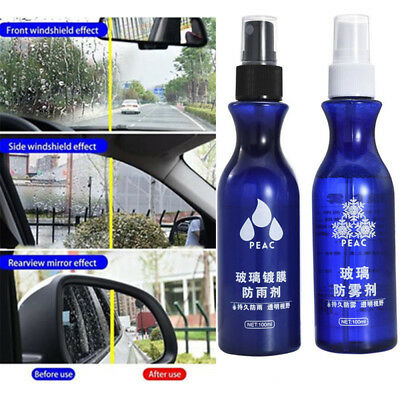 Waterproof Anti-Fog Nano Coating Agent Spray For Car Rear View Mirror Windshield