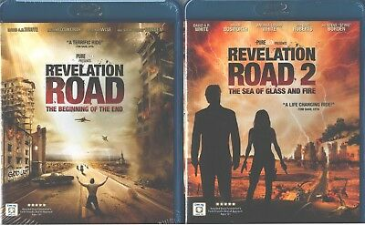 Revelation Road 1-2: Beginning Of The End + Sea Glass And Fire- Nuevo 2 Blu-Ray