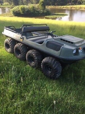Argo 8x8 Amphibious Vehicle, leisure craft