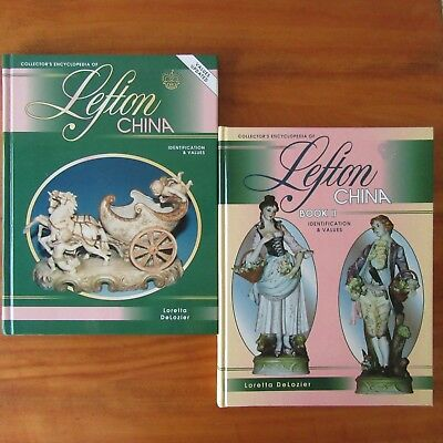 Collector's Encyclopedia of Lefton China Book I & II Identification DeLozier