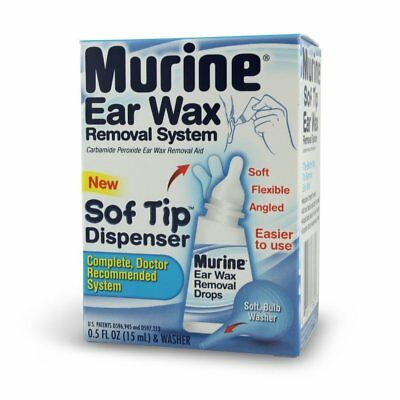 Murine Ear Wax Removal System, .5OZ (Pack of 6)
