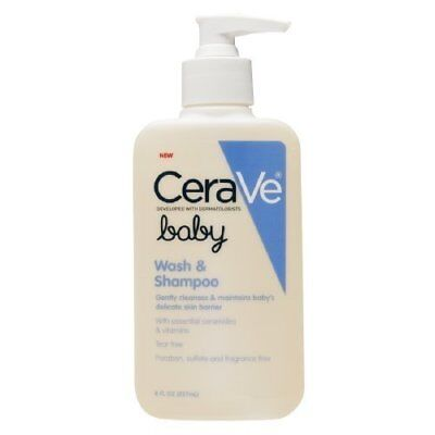 CeraVe Baby Wash & Shampoo 8 oz Model: