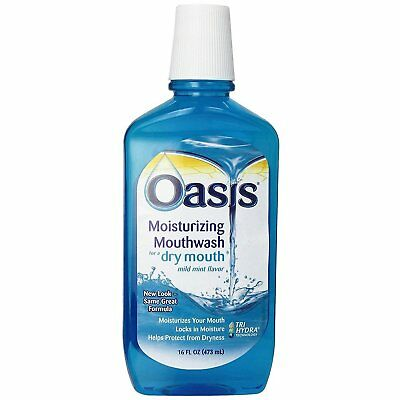Oasis Moisturizing Mouthwash Mild Mint 16 oz (Pack of 10)