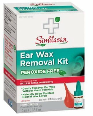 Peroxide Free Ear Wax Removal Kit - 0.33 oz (6 Pack)